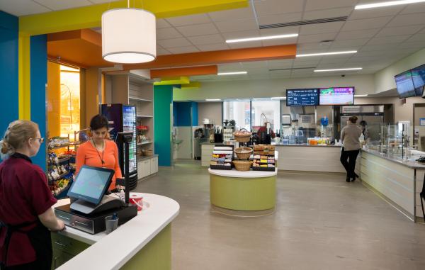 Hospital Cafeterias And Vending Akron Children S Hospital