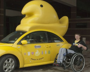 Our patients give Peeps a chance