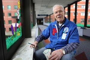 Volunteer Paul Swain