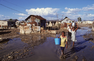 Service in Haiti