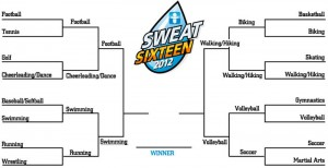 The Sweat Sixteen: The Fitness Four has been named