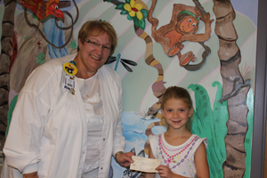 Art show supports different kind of healing