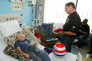 Wishing kids a speedy recovery