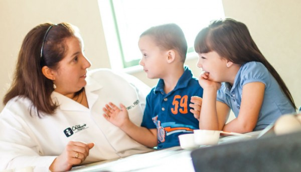 Dr. Cydney Fenton gives kids the skills they need to live with diabetes.