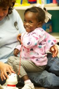 2-year-old Kimsy Francois,