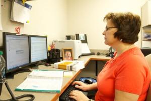 Surgery medical coder Janice Gerzina