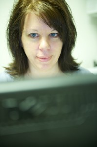 Medical coder Sarah Ellis