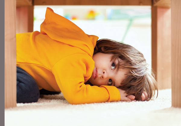young-child-hiding