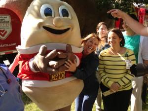 Famous Idaho® Potato Truck Visits Akron Children's