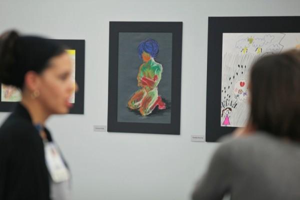 Partial Hospitalization Program art show