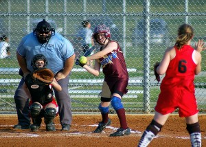 Concussions twice as likely in softball vs baseball players, study shows