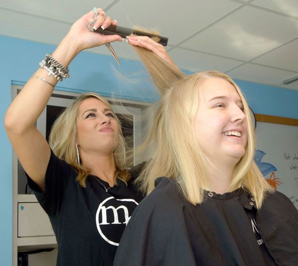 MC Hair M.C. Hair consultants did the hair and nails for our patients as part of the LOPen Charity Events.