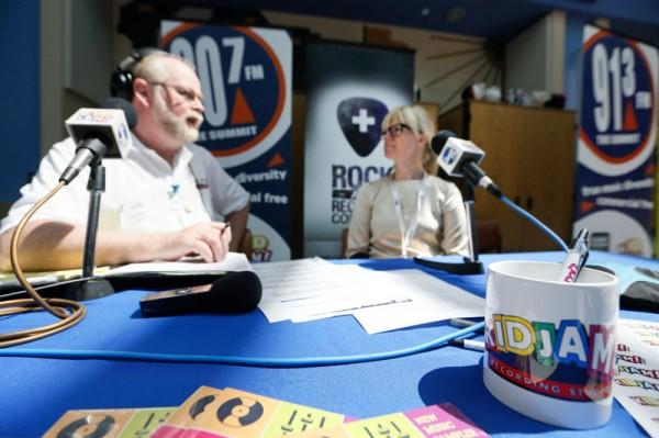 The Summit broadcaster Garrett Hart talks with Akron Children's art therapist Molly Kohut about the KidJam studio.