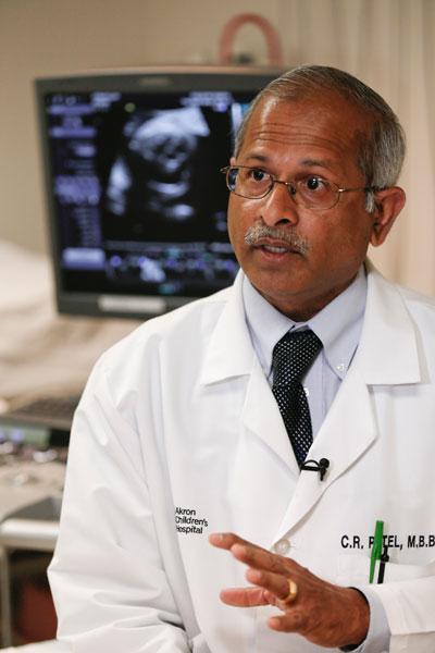 Dr. Patel explains Jack's EKG.