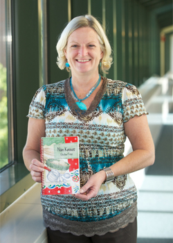 Delnay created the cookbook for her bucket list and to pass down her recipes to her family.