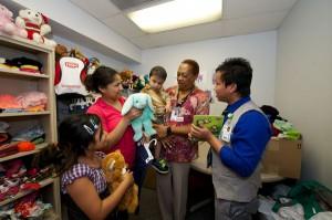 Miss Karen opens up her closet for children in need