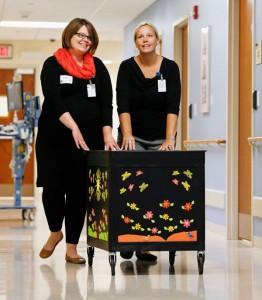 Parent Courtesy Cart brings comfort to patient families