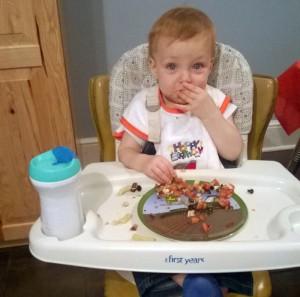 Sam-eats-birthday-food