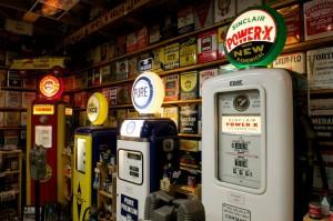 Road Show: Vintage gas pumps, license plates highlight trip down memory lane