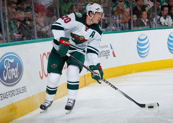 Ryan Suter of the Minnesota Wild is one of the NHL hockey players out with mumps.