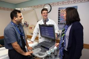 Dr. Saini, Dr. Lane and Deena Barber