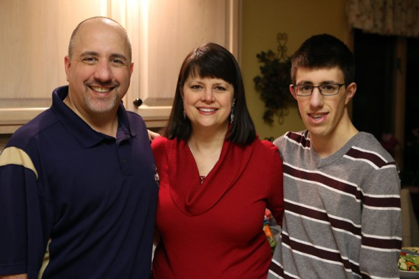 Joe and Lisa Testa with son Andrew