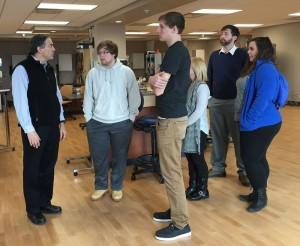 College students take a deep dive into concussion research, treatment