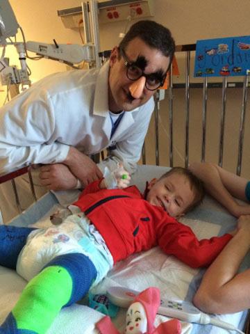 Jordan with Dr. Adamczyk