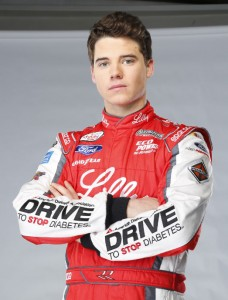 Race car driver encourages children with diabetes to 'live life without limits'