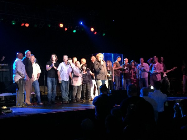 Lou Gramm, former lead singer of Foreigner, performed in front of a packed house at the Hardrock Rocksino.