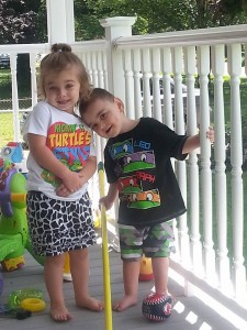 Blake and his sister