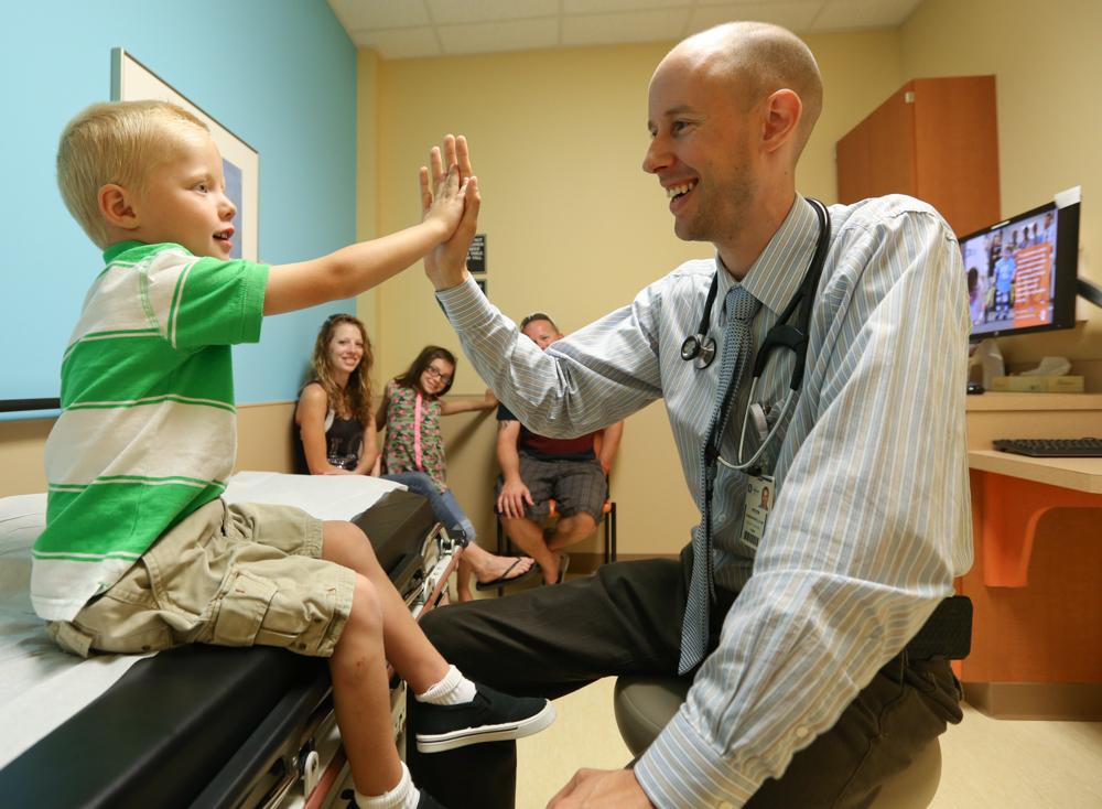 Courageous kindergartner battles back from multiple open heart surgeries