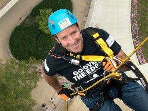 Vice President Shawn Lyden begins his descent.