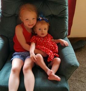 Chloe and Charlotte