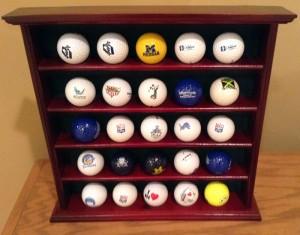 Dr. Brandon Smith's golf collection