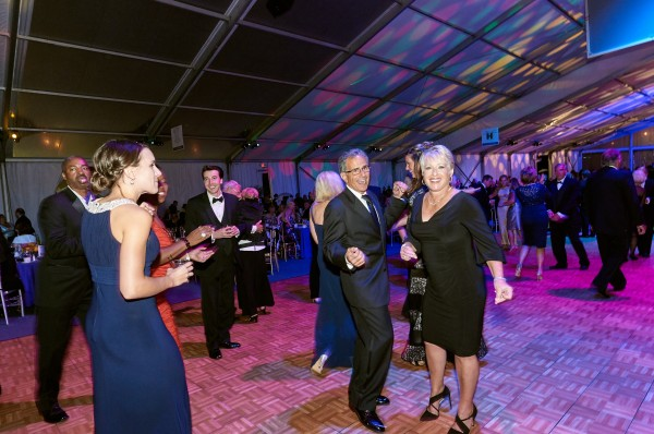 Robert Trabucco, chairman of Akron Children's Board of Directors, dances with his wife, Kathy