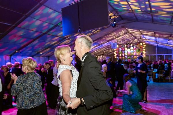 Women's Board President Pat Grant and her husband, Stuart