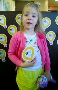 Bekah's Radiothon Balloon