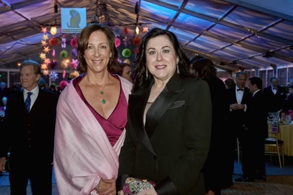 125th gala co-chairs Eileen Benson and Lyn Bober
