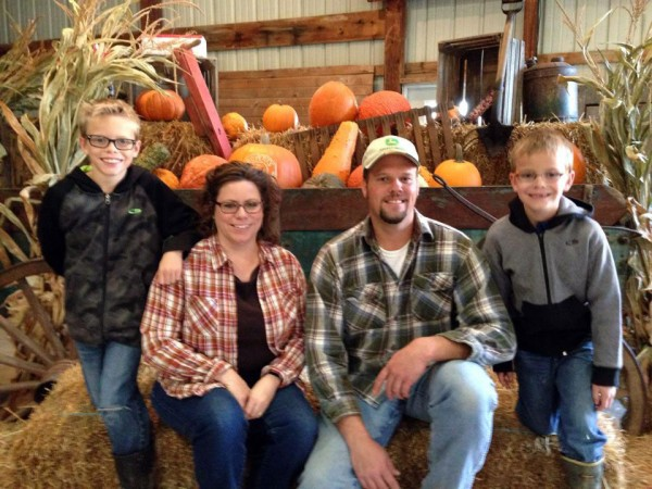 The Avalon family looks forward to their annual church outing to Boyert's Farm in Seville.