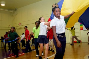 Kohl's funds Akron Children's fitness program