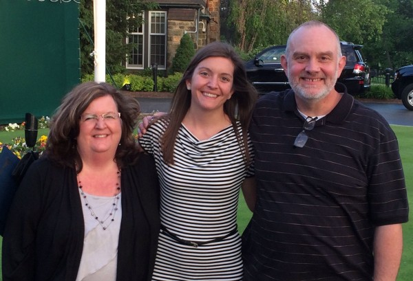 Dr. Knowles and her parents