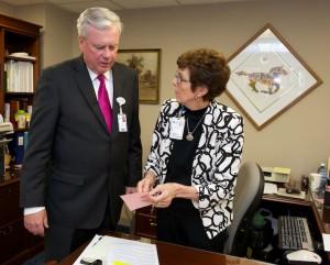 Bill Considine and Pat O'Desky
