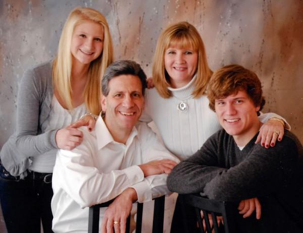 Amanda Gamble and her family