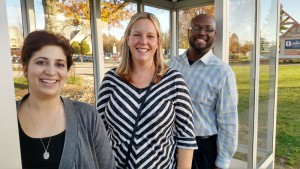Parent initiative leads to new bus shelter