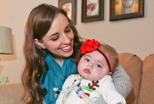 Natalie Livengood will be home this Christmas thanks to Akron Children's Hospital.