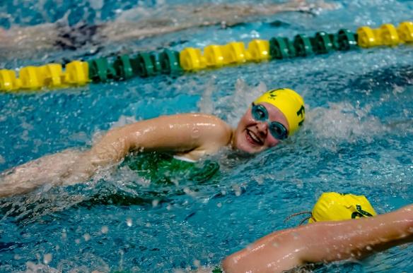 Firestone swimmer Sarah Stutler