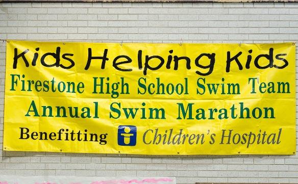 The Kids Helping Kids swim marathon has raised $163,000 for Akron Children's since it began in 1989.