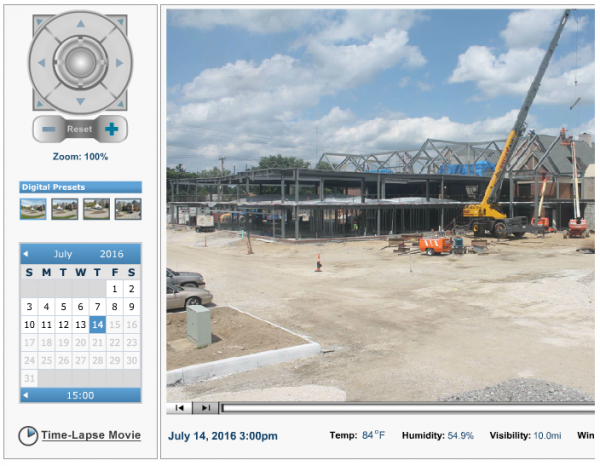 Beeghly Construction Camera