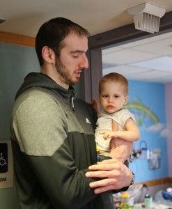 Akron Children's has a special connection for NBA player Kosta Koufos